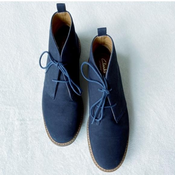 Sequía puño ranura  Clarks Shoes | New Dove Roxana Suede Lace Up Bootie | Poshmark